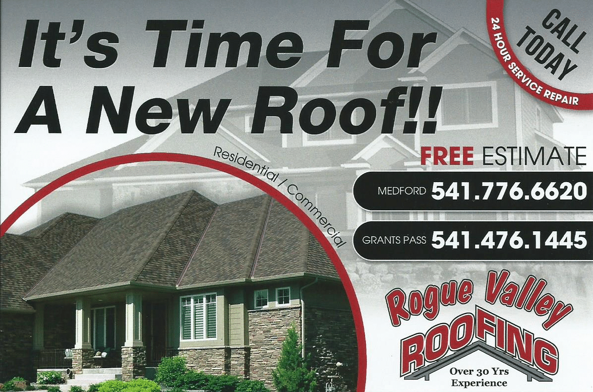 Southern Oregon Roofing Coupons Rogue Valley Roofing